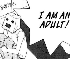 manga, anime, and Adult image