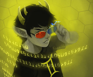 homestuck, sollux captor, and huevember image