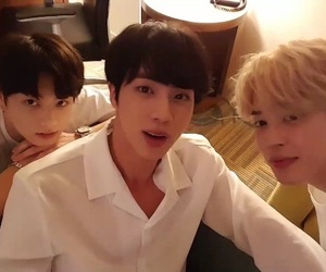 jin, bts, and jungkook image