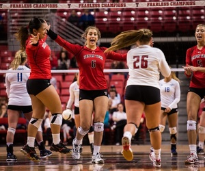volleyball, ncaa, and texastech image