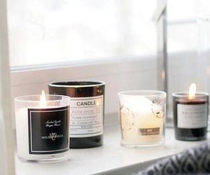 candle, pretty, and home image