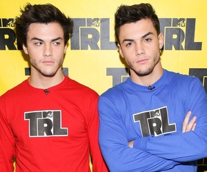 boys, trl, and grayson dolan image