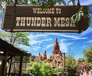 disney, disneyland paris, and big thunder mountain image