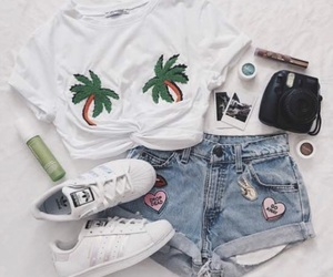 clothes, shorts, and style image