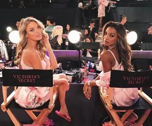 martha hunt, Victoria's Secret, and jasmine tookes image