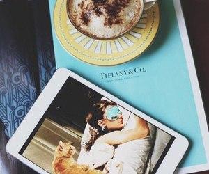 coffee, tiffany, and breakfast image