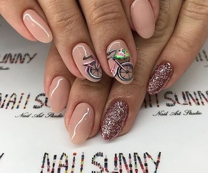 manicure, nail art, and Nude image