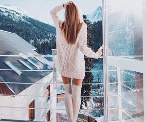 christmas, sweater, and fashion image