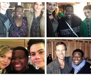 teen wolf, tyler posey, and tw cast image
