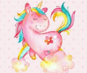 birthday and unicorn image