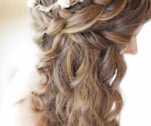 braids, hairstylewithbraids, and girl image