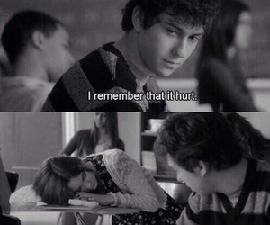 love, hurt, and stuck in love image