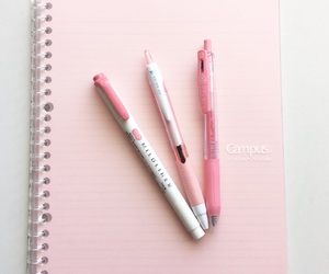 notebook and pastel image