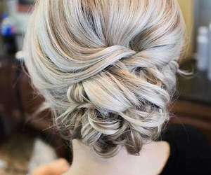 and, girl, and hairstyles image
