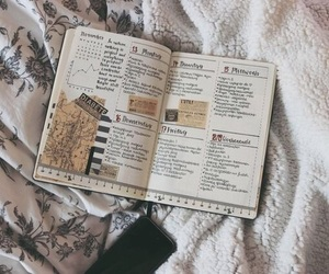 aesthetic, books, and fall image