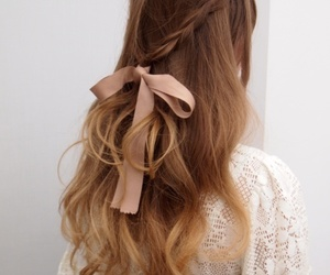 beautiful, girl, and hairstyles image
