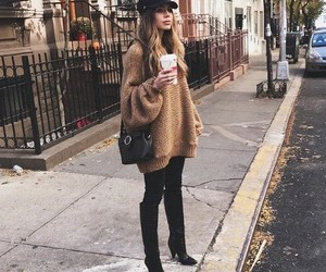 fashion, ny, and street style image