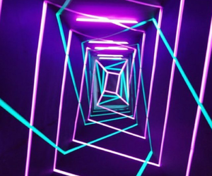 neon, purple, and blue image