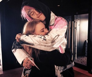 lil peep and fan image