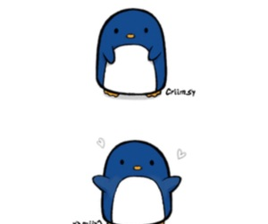 adorable, blue, and drawing image