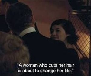hair, quotes, and coco chanel image