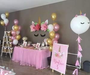 party and unicorn image