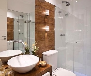 banheiro, toilet, and decoração image