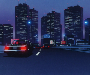 90s, anime, and night image
