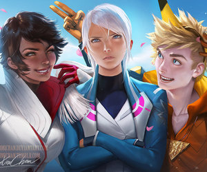 blanche, electric, and fire image
