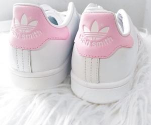 adidas, pastels, and pink image
