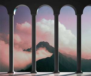 architecture, clouds, and Dream image