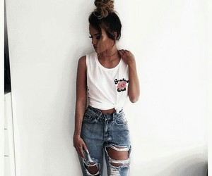 beautiful, clothes, and denim image