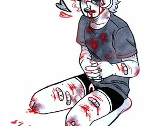 anime, gore, and guro image