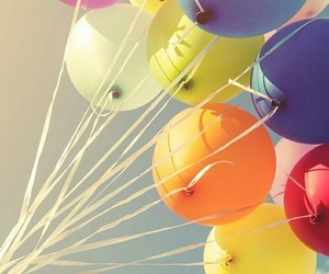 colores, globos, and wallpaper image