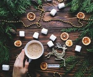 beauty, christmas, and girl image
