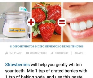beauty, white teeth, and health image