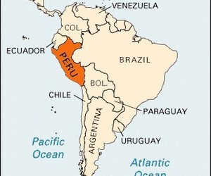 geography, peru, and south america image