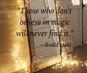 magic, mirror, and quotes image