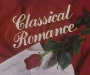 red, rose, and romance image