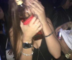 girl and drink image