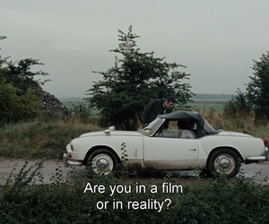 film, reality, and quotes image