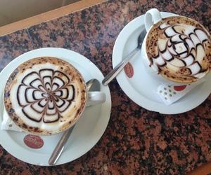 Barcelona, cappuccino, and coffe image