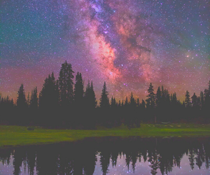 sky, nature, and night image