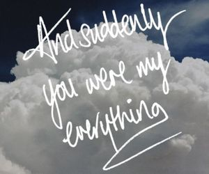 love, everything, and sky image