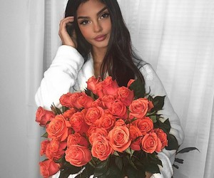 flowers, makeup, and pretty image