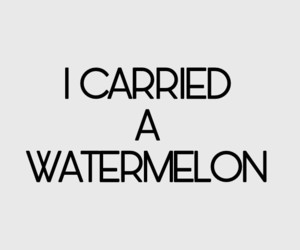 80s, dirty dancing, and watermelon image