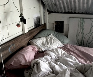 aesthetic, bed, and indie image