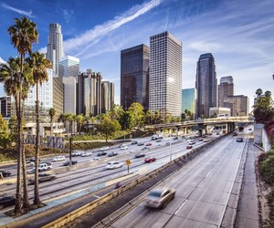 los angeles and california image