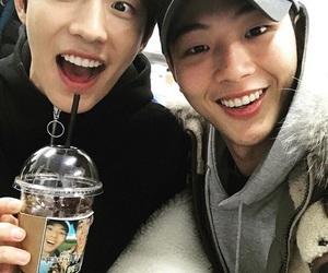 jisoo, nam joo hyuk, and actor image
