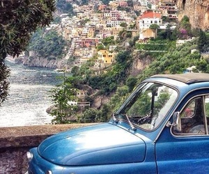 travel, italy, and positano image
